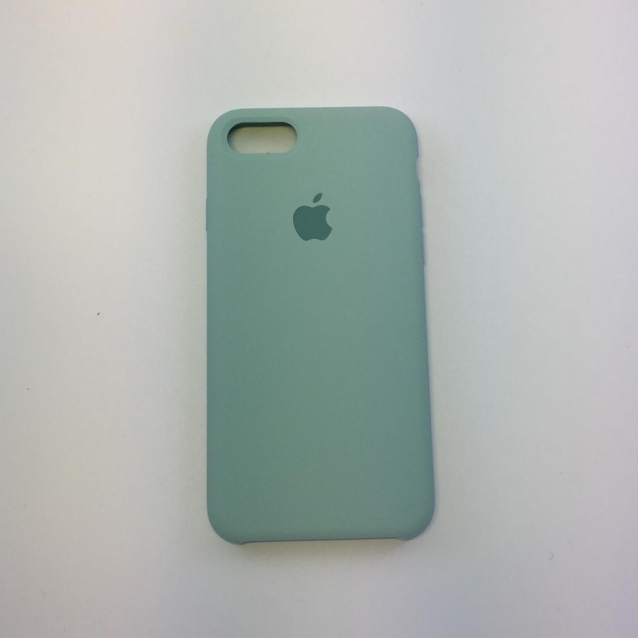"Чехол - Silicon Case для iPhone ""Мята - №17"" - copy orig."