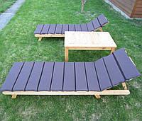 Деревянный набор мебели для бассейна, террасы, деревянный loungeкомплект, цена