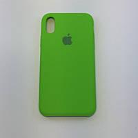 "Чехол - Silicon Case для iPhone ""Лайм - №31"" - copy orig., фото 1"