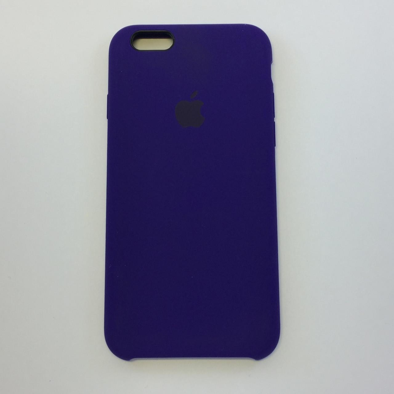 """Чехол - Silicon Case для iPhone """"Ультрафиолетовый - №30"""" - copy orig."""