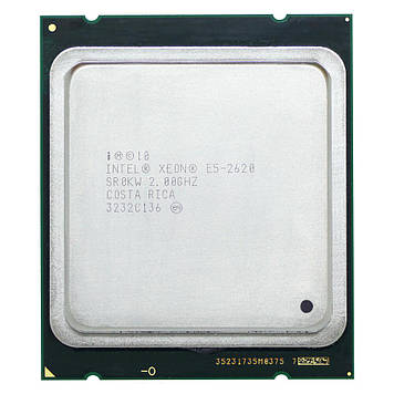 Процессор Intel Xeon E5-2620 2.00GHz/15M/7.2GT/s (SR0KW) s2011, tray