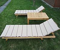 Садовая мебель, комплект из натурального дерева, купить