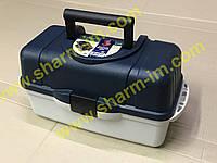 Рибальський ящик Aquatech 2703 на 3 полиці