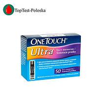Тест полоски OneTouch Ultra  №50