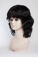 Натуральный парик №11,Цвет черный