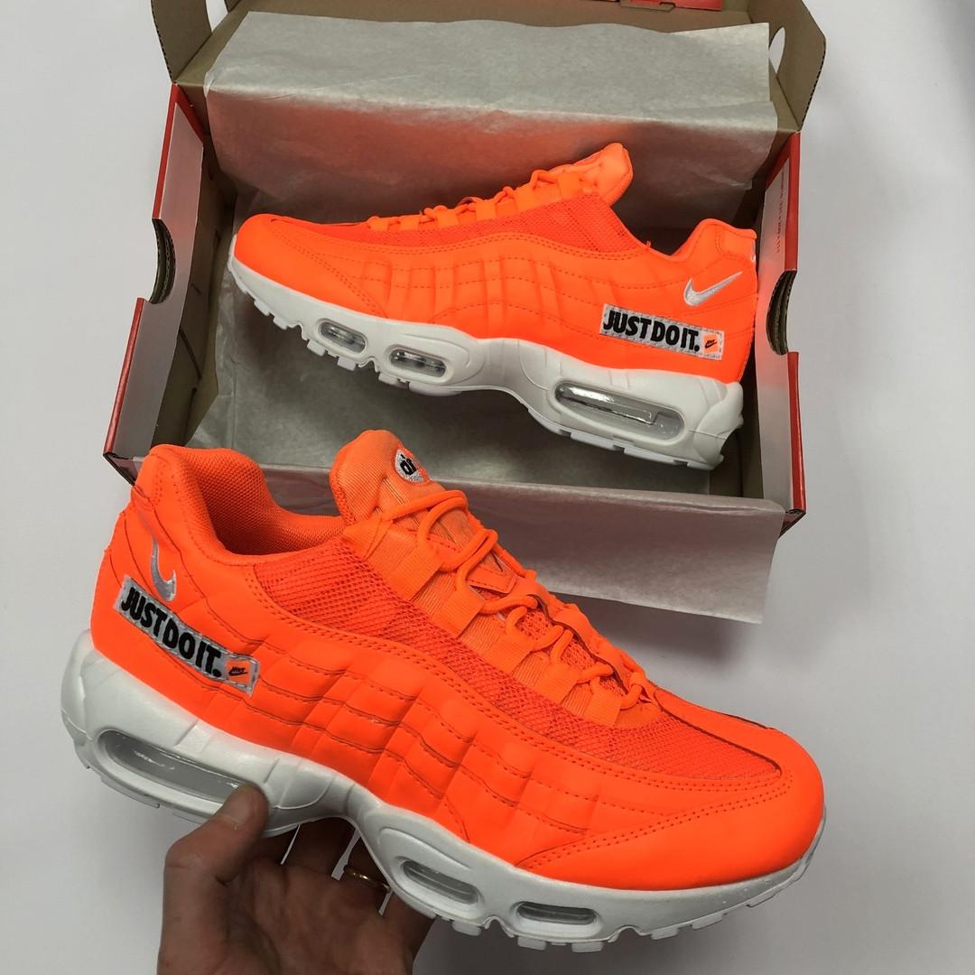 ae8dc488 Мужские кроссовки Nike Air Мах 95 оранжевые реплика- купить не ...
