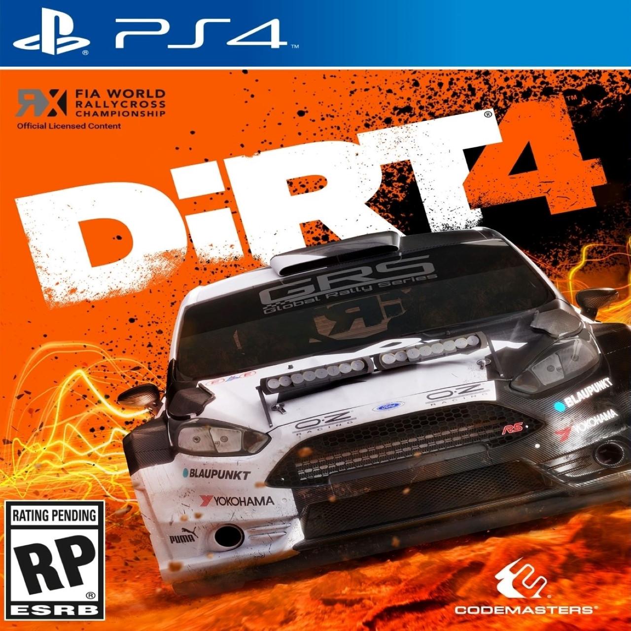 Dirt 4 PS4 RUS
