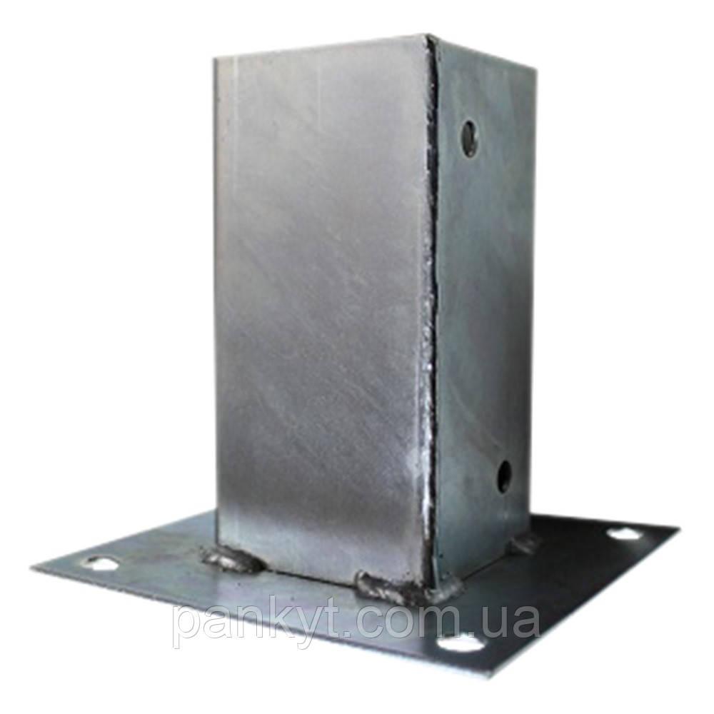 Опора стояка для бетона. Опора столба. 71х71х150х2.0