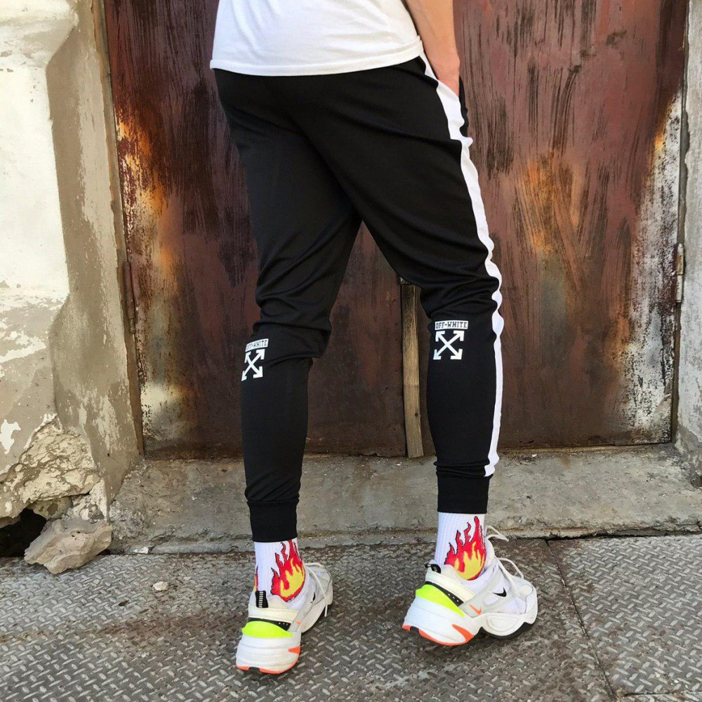 Спортивные штаны с  OFF-WHITE