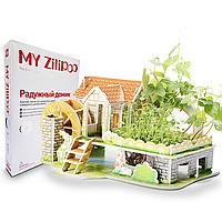 Живой 3D Пазл MY Zilipoo Радужный домик (Z-006), фото 1