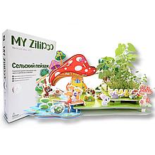 Живой 3D Пазл MY Zilipoo Сельский пейзаж (Z-003)