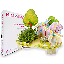 Живой 3D Пазл MINI Zilipoo В гостях у мельника (M-002)