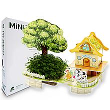 Живой 3D Пазл MINI Zilipoo Дом - полная чаша (M-005)