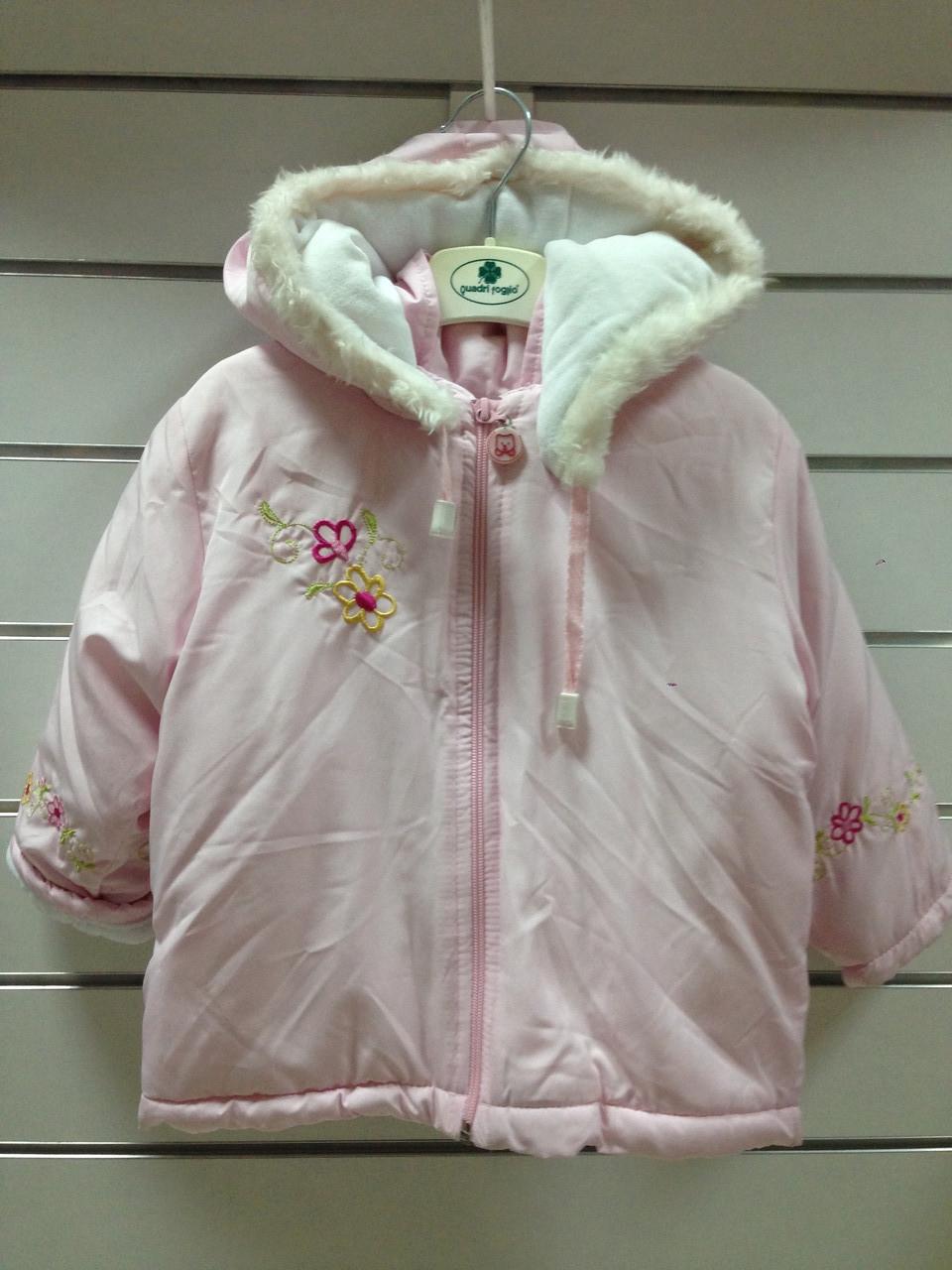 Куртка демисезонная для девочки розовая р.92