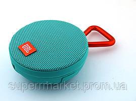 JBL Clip 2 3W копия, колонка c bluetooth MP3, Teal мятная, фото 2
