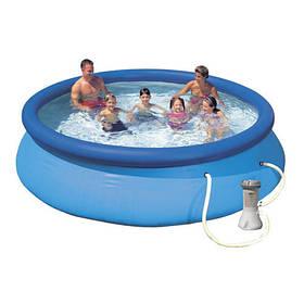 Семейный наливной бассейн с фильтр-насосом Intex 28132 Easy Se