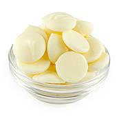 Глазурь кондитерская Satina White белая капли (500 гр.)