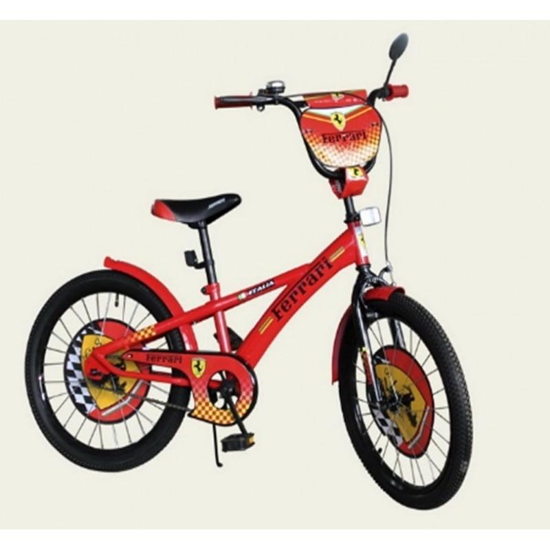 Велосипед 2-х колесный 20'' 172005 красный