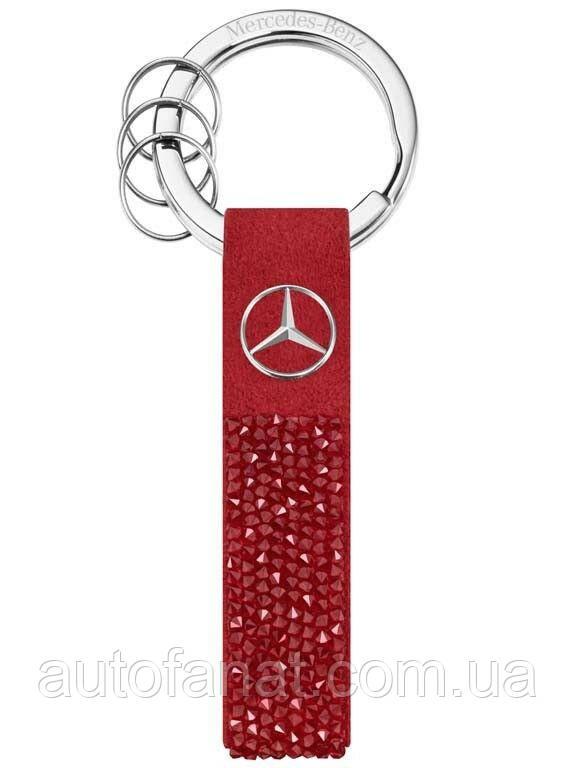 Оригинальный брелок Mercedes-Benz Key Ring, Milano, Red, Swarovski (B66953270)