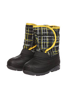Ботинки Kamik JACKFROST2 черный клетчастый