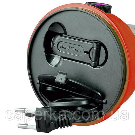 Фонарь лампа 5850 TY, 24SMD, динамо, солн. батарея, фото 2