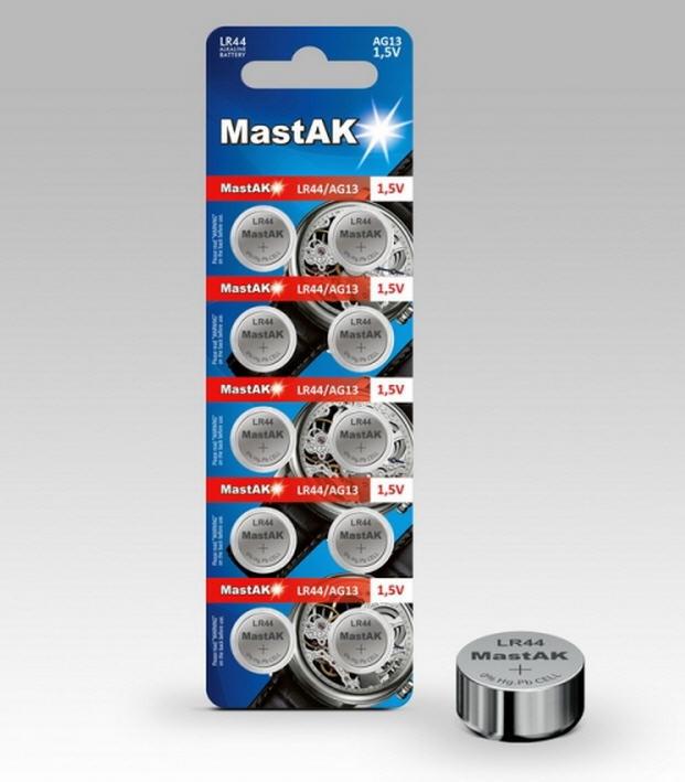 Алкалиновые Батарейки G13 Mastak