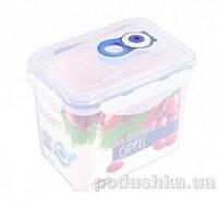Вакуумный контейнер для хранения продуктов Gipfel 151x108x127мм (пластик) 1100 мл