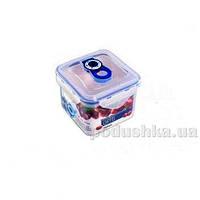 Вакуумный контейнер для хранения продуктов Gipfel 121x121x97мм (пластик) 700 мл