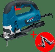 Электрический лобзик Bosch GST 90 BE Professional + Мультитул (0615990L0A)