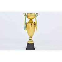 Кубок спортивный с крышкой и чашей CUP