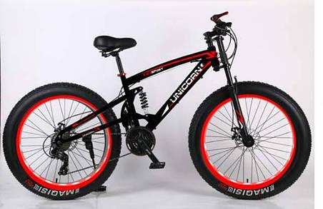 Велосипед ФЕТБАЙК FAT-BIKE Unicorn SPORT, фото 2