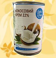Крем Кокосовий, 22%, 400 мл, Fresh&Natural, Luck Siam, R