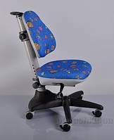 Кресло детское Y-317 BB обивка синяя с жучками Mealux