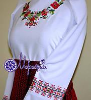 Заготовка на блузу для девочки №7