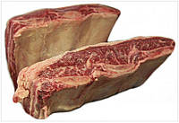 Ребра австралийской мраморной говядины. Зерновой откорм 120 дней