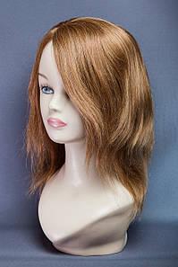 Натуральный парик №12,цвет светло-русый с золотинкой