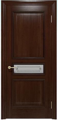 Двери INTERIA I-023.S01, полотно, шпон, срощенный брус сосны , фото 2