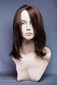 Натуральный парик №12,цвет молочный шоколад