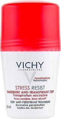 Интенсивный дезодорант-антистресс Vichy Stress Resist Anti Perspirant Treatment 72H