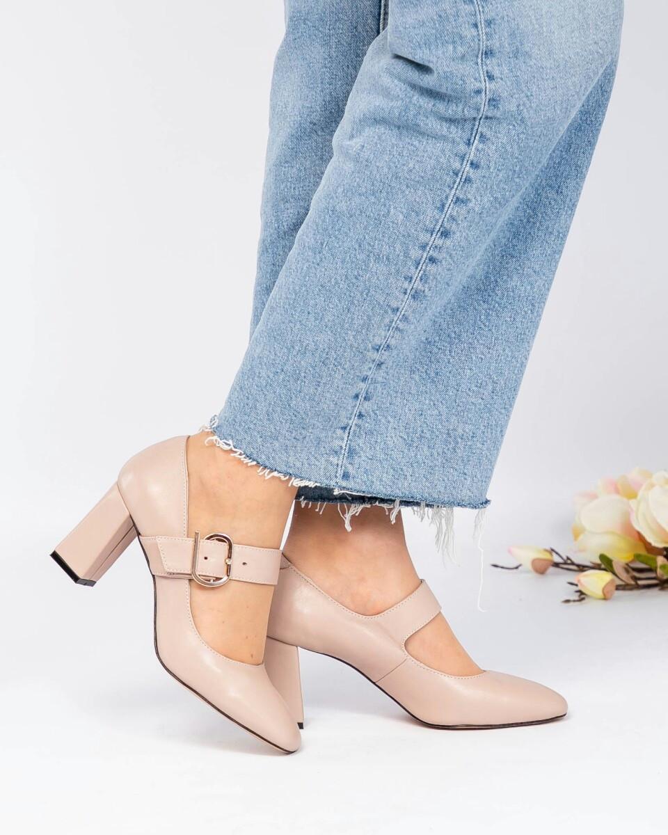 Женские бежевые Туфли на ремешке с пряжкой. Размер 39 40 41