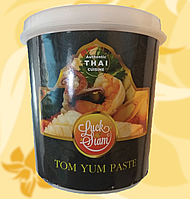 Паста Том Ям, Tom Yum Paste, Luck Siam, 400г, Таїланд, R