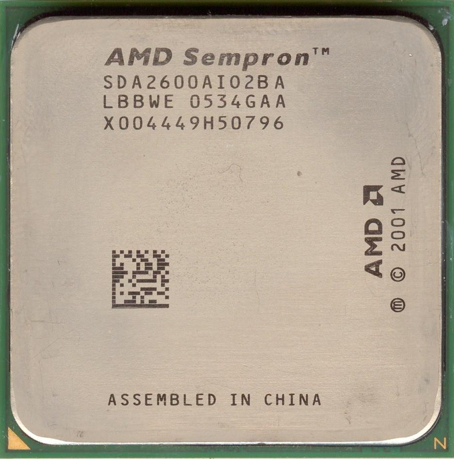 AMD SEMPRON PROCESSOR 2600+ WINDOWS 7 64BIT DRIVER