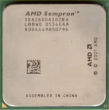 Процессор AMD Sempron 2600+ 1.6MHz/128k/1600 (SDA2600AI02BA) s754, tray