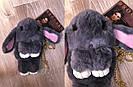 """🐰 Сумка-Рюкзак  🐰  Кролик """"Rex Fendi"""" из меха (зайка, зайчик) как игрушка, фото 3"""