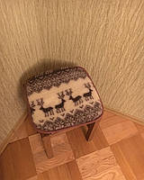 Накидка на сиденье из овчины 50*50