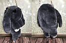 """🐰 Сумка-Рюкзак  🐰  Кролик """"Rex Fendi"""" из меха (зайка, зайчик) как игрушка, фото 7"""
