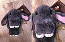 """🐰 Сумка-Рюкзак  🐰  Кролик """"Rex Fendi"""" из меха (зайка, зайчик) как игрушка, фото 9"""