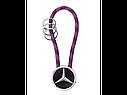 Оригинальный брелок Mercedes-Benz Key Ring, Mumbai, Black/Silver/Plum (B66956756), фото 3