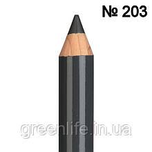 Cinecitta,  Карандаш для бровей, Оттенок № 203 -серый асфальт , Чинечита, Италия