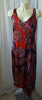 Платье женское р.42-44 летнее нарядное вискоза бренд Steps